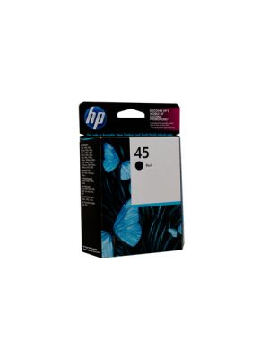 HP #45 Genuine Black Ink Cartridge 51645AA - 833 pages