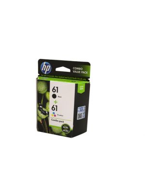 HP #61 Genuine Black & Colour Ink Pack - 190 pages BK & 165 pages CLR