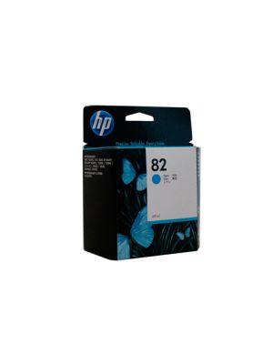HP #82 Genuine Cyan Ink Cartridge C4911A - 3,200 pages