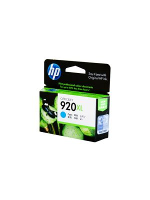 HP #920 Genuine Cyan XL Ink CD972AA - 700 pages