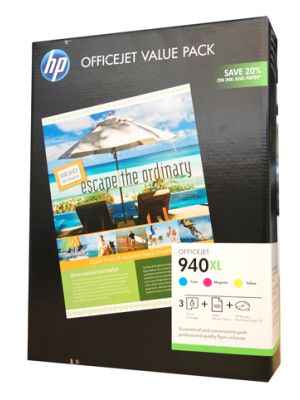 HP #940XL Genuine Ink Value Pack