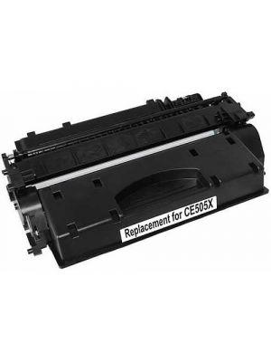 Ecotech, CE505X #05X Compatible Black Cartridge - 6,500 pages