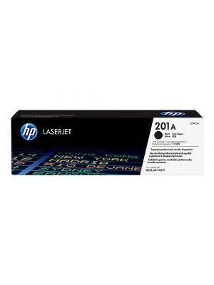HP #201A Genuine Black Toner Cartridge CF400A - 1,500 pages