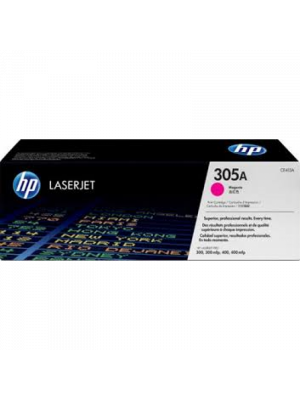 HP 305A Magenta Genuine Toner Cartridge - 2,600 pages | CE413A