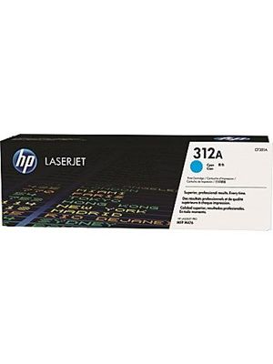 HP #312A Genuine Cyan Toner CF381A - 2,700 pages