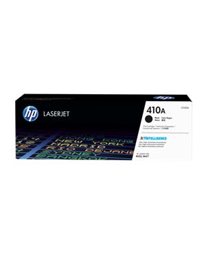 HP #410A Genuine Black Toner Cartridge CF410A - 2,300 pages