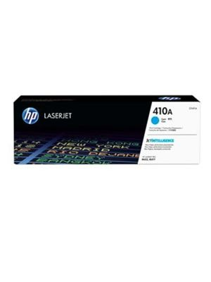 HP #410A Genuine Cyan Toner Cartridge CF411A - 2,300 pages