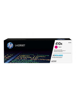HP #410X Genuine Magenta High Yield Toner Cartridge CF413X - 5,000 pages