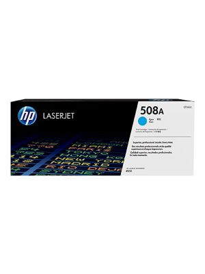 HP #508A Genuine Cyan Toner Cartridge CF361A - 5,000 pages