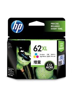 HP #62XL Genuine Tri Colour High Yield Ink Cartridge C2P07AA - 415 pages