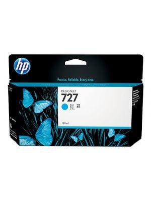 HP #727 Genuine 130ml Cyan Ink Cartridge B3P19A