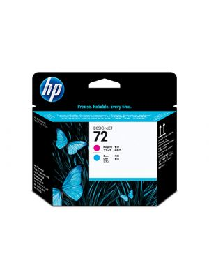 HP #72 Genuine Cyan / Magenta Printhead C9383A