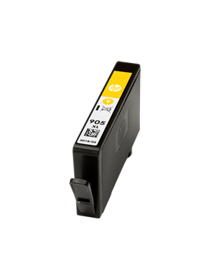 HP #905XL Genuine Yellow High Yield Ink Cartridge T6M13AA - 825 pages