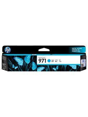 HP #971 Genuine Cyan Ink Cartridge CN622AA - 2,500 pages