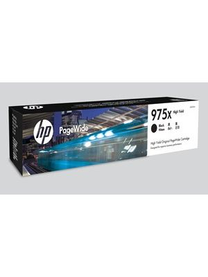 HP #975X Genuine Black High Yield Ink Cartridge L0S09AA - up to 10,000 pages