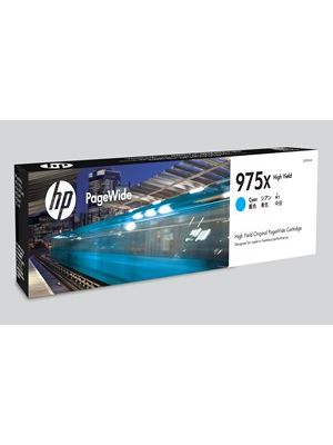 HP #975X Genuine Cyan High Yield Ink Cartridge L0S00AA - up to 7,000 pages