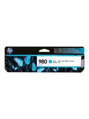 HP #980 Genuine Cyan Ink Cartridge D8J07A - 6,600 pages