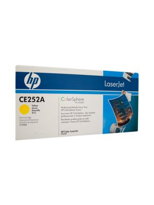 HP #504A Genuine Yellow Toner CE252A - 7,000 pages