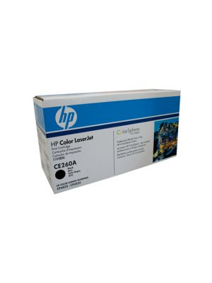 HP #647A Genuine Black Toner CE260A - 8,500 pages