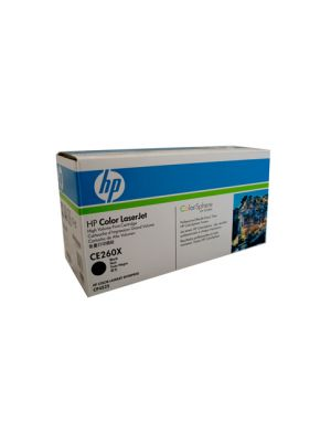 HP #649X Genuine Black Toner CE260X - 17,000 pages