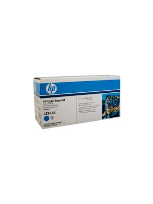 HP #648A Genuine Cyan Toner CE261A - 11,000 pages