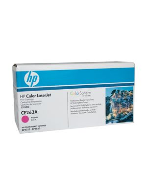 HP #648A Genuine Magenta Toner CE263A - 11,000 pages
