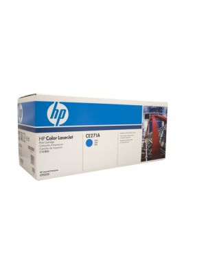 HP #650A Genuine Cyan Toner CE271A - 15,000 pages