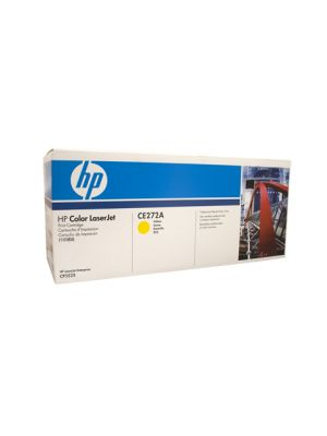 HP #650A Genuine Yellow Toner CE272A - 15,000 pages