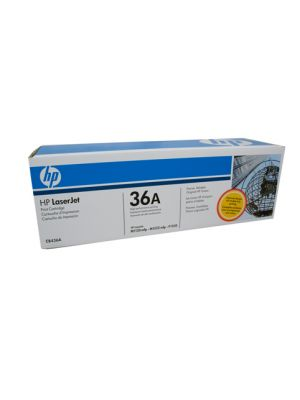 HP #36A Genuine Black Toner CB436A - 2,000 pages