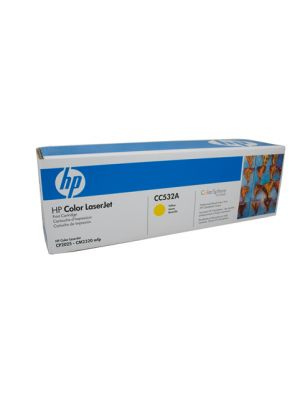 HP #304A Genuine Yellow Toner CC532A - 2,800 pages