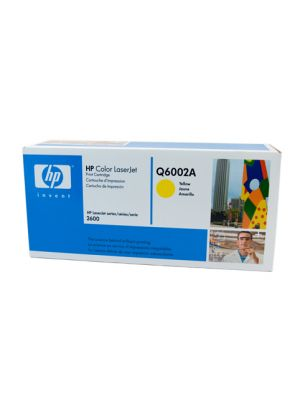 HP #124A Genuine Yellow Toner Q6002A - 2,000 pages