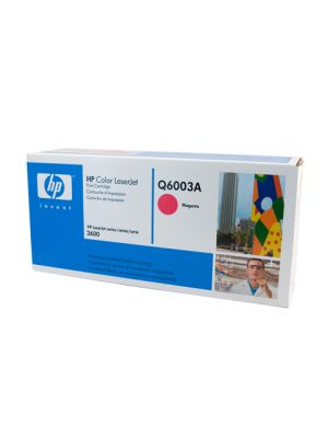 HP #124A Genuine Magenta Toner Q6003A - 2,000 pages