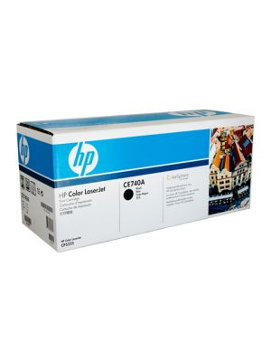 HP #307A Genuine Black Toner CE740A - 7,000 pages