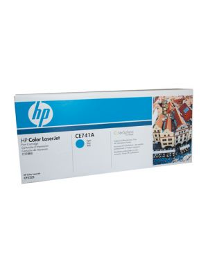 HP #307A Genuine Cyan Toner CE741A - 7,300 pages