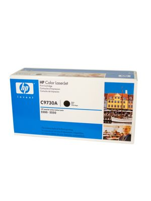 HP #645A Genuine Black Toner C9730A - 13,000 pages