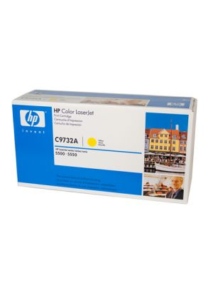 HP #645A Genuine Yellow Toner C9732A - 12,000 pages