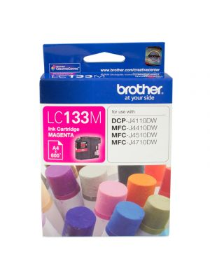 Brother LC133 Genuine Magenta Ink Cartridge - up to 600 pages