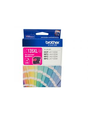 Brother LC135XL Genuine Magenta Ink Cartridge - up to 1200 pages