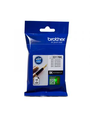 Brother LC3317 Genuine Black Ink Cartridge - up to 550 pages