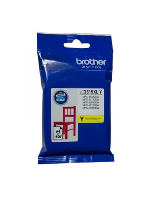 Brother LC3319XL Genuine Yellow Ink Cartridge - up to 1500 pages