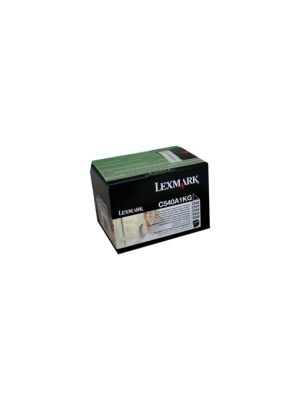 Lexmark C540A1KG Black Toner - 1,000 pages