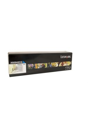 Lexmark X925H2CG High Yield Cyan Toner - 7,500 pages