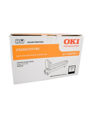 Oki C5650/C5750 Genuine Black Drum Unit 20,000 pages (43870012)
