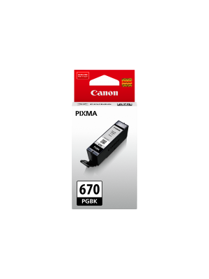 Canon PGI670 Genuine Black Ink Cartridge