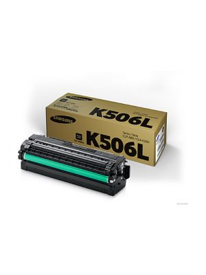 Samsung CLTK506L Genuine Black Toner Cartridge SU173A - 6,000 pages