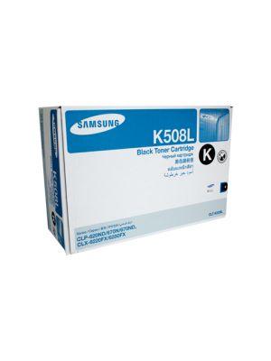 Samsung CLTK508L Genuine Black Toner - 5,000 pages