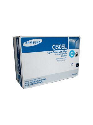 Samsung CLTC508L Genuine Cyan Toner - 4,000 pages