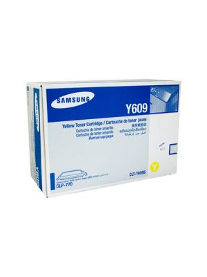 Samsung CLTY609S Genuine Yellow Toner - 7,000 pages