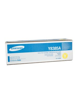 Samsung CLXY8385A Genuine Yellow Toner - 15,000 pages