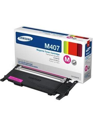 Samsung CLTM407S Genuine Magenta Toner  - 1,000 pages